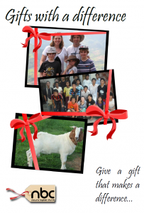 Gifts with a difference front page